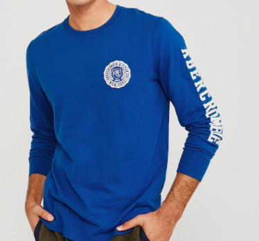 """Abercrombie & Fitch Herren Shirt """"Tech Logo Holiday"""" für 15,71€ (statt 35€)"""