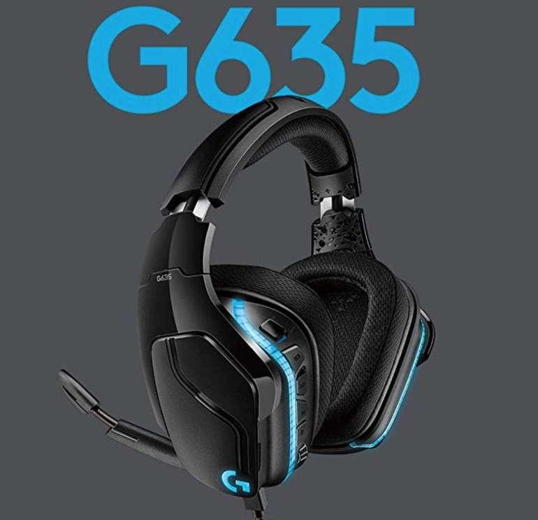 Logitech G635 Lyghtsync RGB-Gaming-Headset (mit 7.1 Surround Sound) für 75€ inkl. Versand (statt 90€)