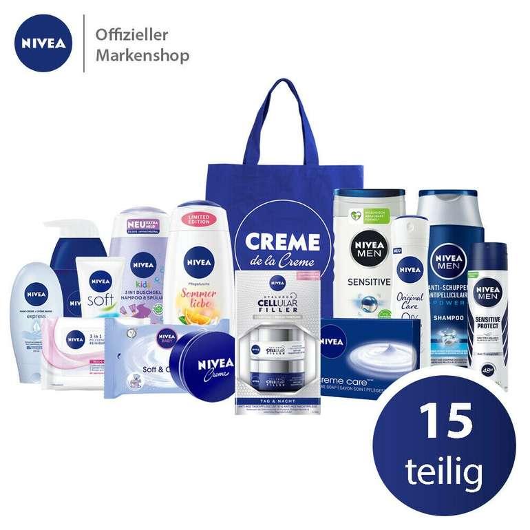 15-tlg. Nivea Sommerset mit Tasche & Pflegeprodukten für 23,99€ inkl. Versand (statt 35€)