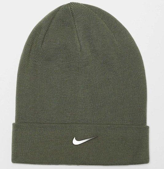 Nike NSW Beanie Cuffed Swoosh medium olive für 11,99€ (statt 22€)
