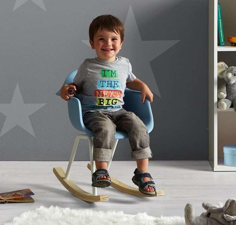 Bessagi Kids 'Bobby' Kinderschaukelstuhl in zwei Farben für je 23,38€ (statt 28€)