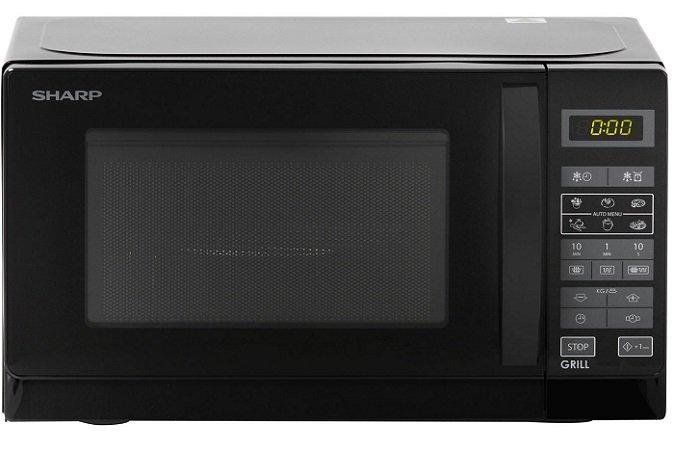 Sharp R642BKW Mikrowelle mit Grill für 59€ inkl. VSK (statt 72€)