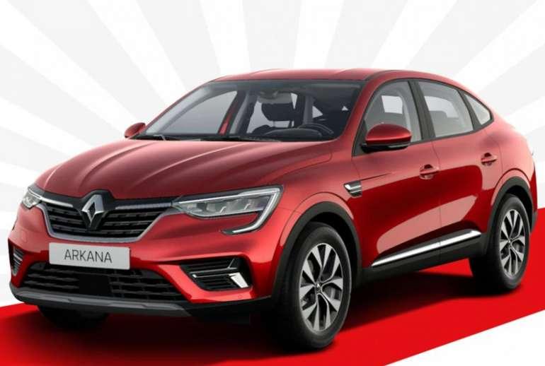 Gewerbe: Renault Arkana Zen TCe mit 140 PS im Testleasing für 89€ netto mtl. (LF: 0.32, Überführung: 599€)