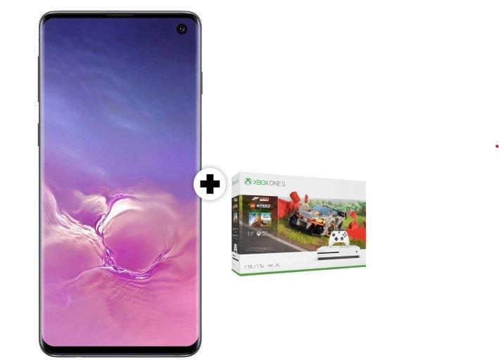 Samsung Galaxy S10 + Xbox One S 1TB LEGO® Speed Champions + Vodafone LTE (D2-Netz, Allnet Flat, 8GB LTE) für 26,99€ mtl.