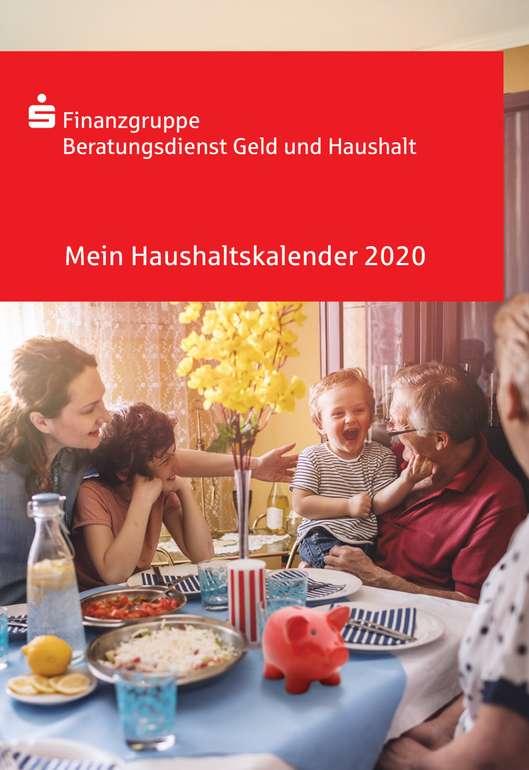 Gratis: Haushaltsbuch/Haushaltskalender 2020 kostenlos bestellen