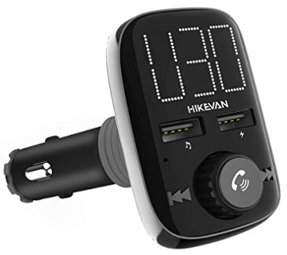 HikeVan Bluetooth FM Transmitter mit LED-Display für 11,40€ (statt 19€)