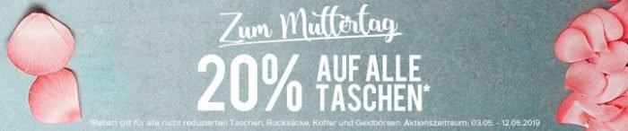 8f6885444aa57 Bei Deichmann gibt als Muttertags-Aktion gerade 20% Rabatt auf alle nicht  reduzierten Taschen