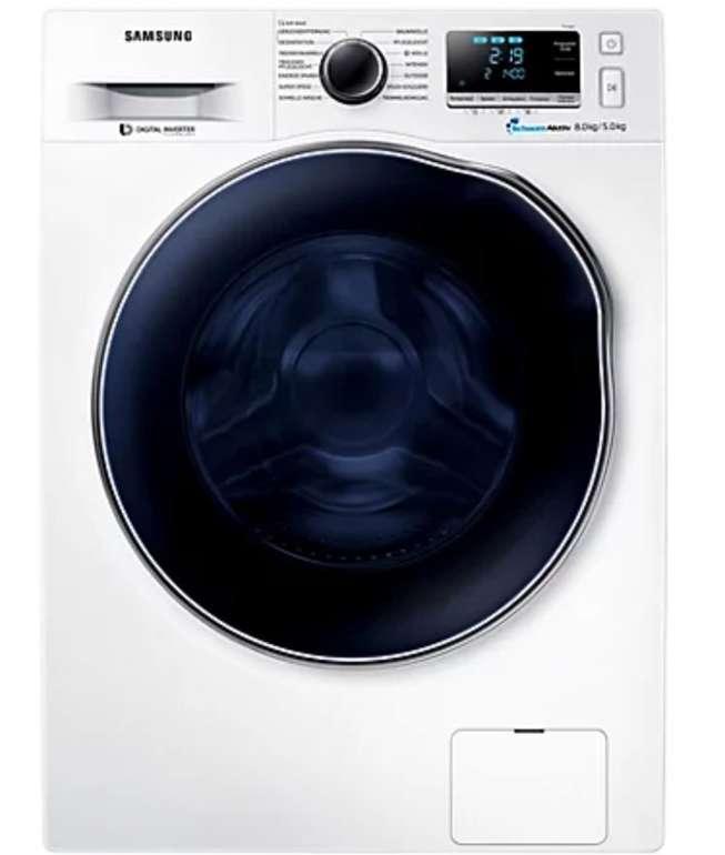 Samsung WD80J6A00AW/EG (Waschtrockner 8kg / 5kg, EEK A, SuperSpeed-Wash) für für 599,88€ (statt 661€)