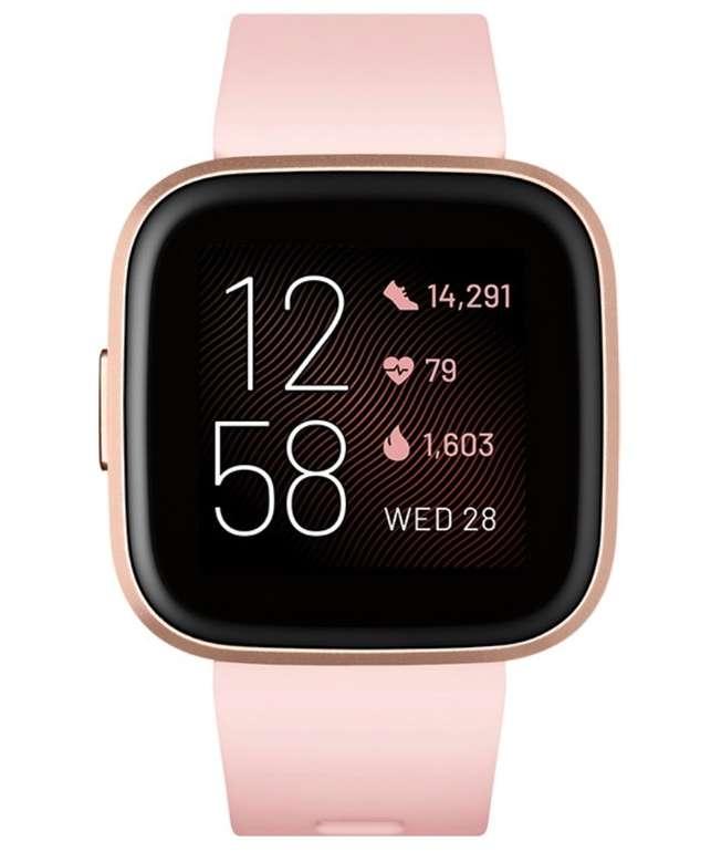 Amazon Prime Day: Fitbit Versa 2 – Gesundheits- und Fitness-Smartwatch mit Sprachsteuerung für 114,99€
