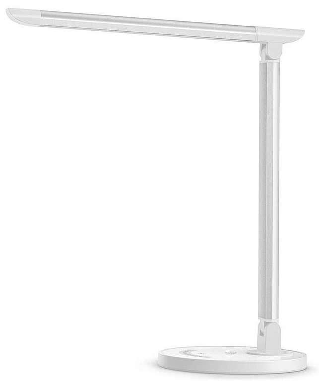 TaoTronics 12W Schreibtischlampe (5 Farben, 7 Helligkeitsstufen, dimmbar) für 22,49€