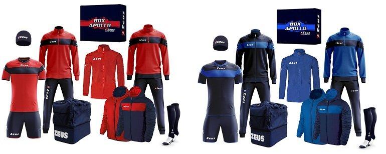 Zeus Apollo Fußball Set Teamwear Box 12-teilig