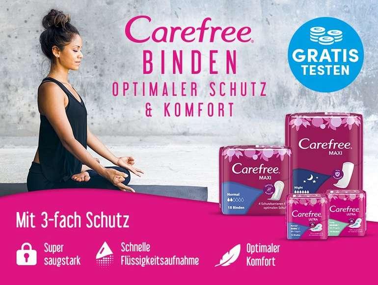 Careefree Binden gratis testen dank Geld-zurück-Garantie (GzG)