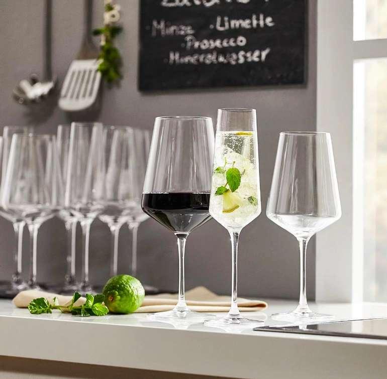 18 tlg. Leonardo Puccini Gläserset (je 6 Gläser für Sekt, Rotwein, Weißwein) zu 43,87€ inkl. Versand (statt 60€)
