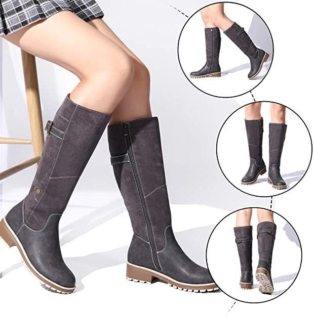 Camfosy hohe Damen Stiefel in 3 Farben für je 27,49€ inkl. Versand (statt 37€)