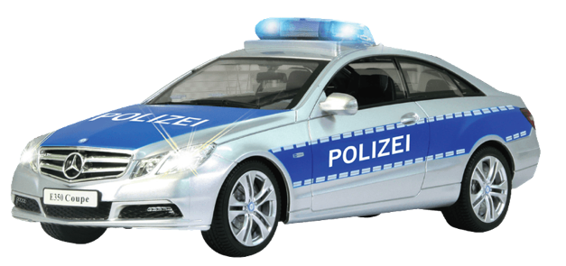 Jamara 410023 Mercedes E350 Coupe 1:16 Polizei (RC-Auto) für 23€ inkl. Versand