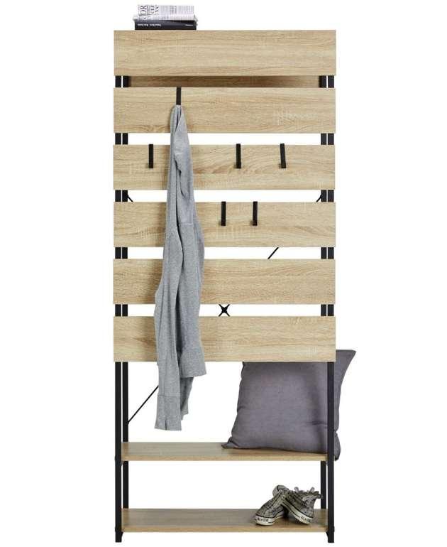 Modern Living Garderobe in Sonoma Eiche für 84,99€ inkl. Versand (statt 115€)