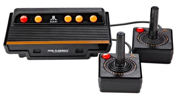 Atari Flashback 8 Retro Spielekonsole + 105 Spiele + 2 Joysticks für 39,97€