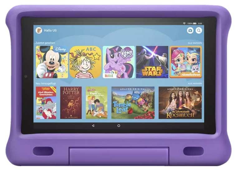Amazon Fire HD 10 Kids Edition Tablet (32 GB, 10,1 Zoll, Lila) für 149,99€inkl. Versand (statt 190€)