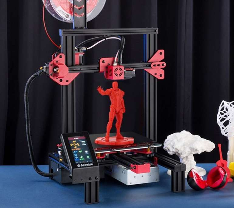 Alfawise U30 3D Drucker (Bausatz) mit 2,8 Zoll Touch Bildschirm für 154,91€ inkl. Versand