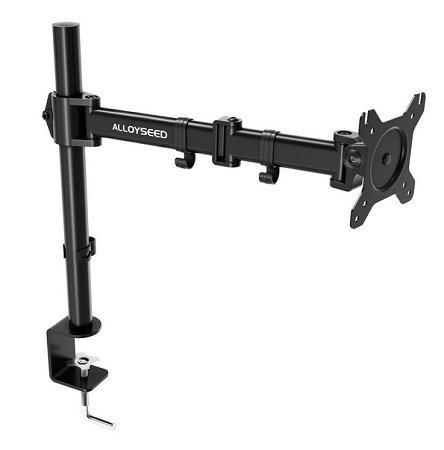 Alloyseed 13-27 Zoll Monitor Tischhalterung mit max. 10kg Gewicht für 14,49€