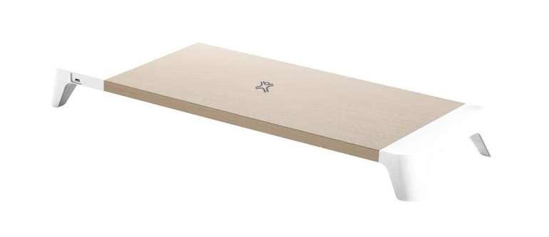 Xtreme Mac Wooden Stand Monitorständer mit induktiver Ladefläche für 31,99€ inkl. Versand (statt 55€)