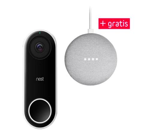 Google Nest Hello Video Türklingel + gratis Google Home Mini für 274,95€