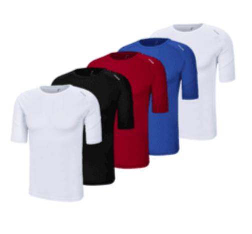 Reusch Basic Funktionsshirts 5er Pack für 32,95€ inkl. Versand (statt 60€)