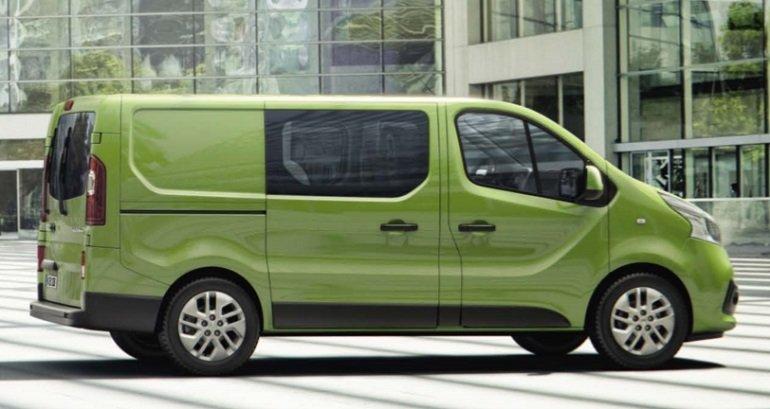 Renault Trafic dCi 120 L2H1 DoKa 3.0t inkl. Klima, Radio, BT & LED ab 71€ Netto mtl. im Gewerbeleasing