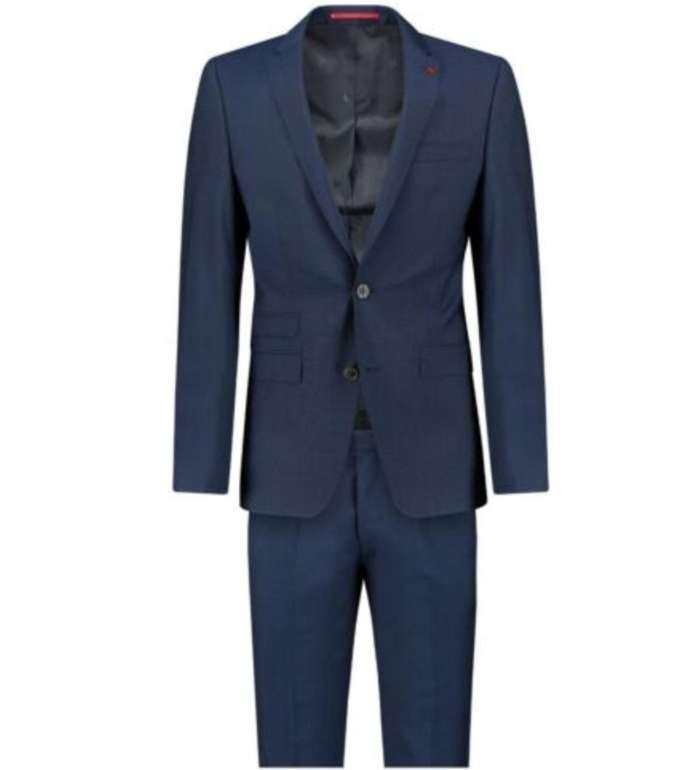 Roy Robson Herren Anzug in blau (Slim Fit, Reverskragen) für 149,90€ inkl. Versand (statt 200€)