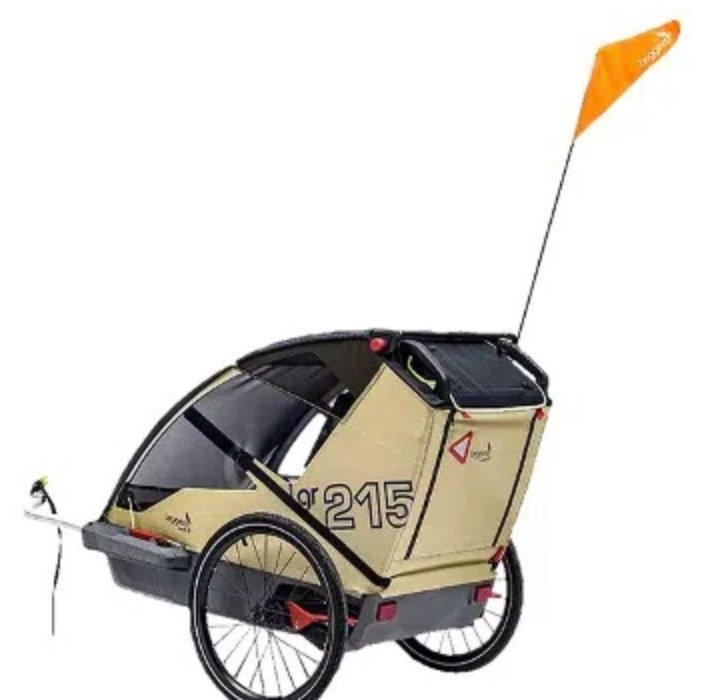 Saturn: Tag des Fahrrads Aktion – z.B. Leggero Vento R Surf Pure Fahrradanhänger für 339€ (statt 400€)
