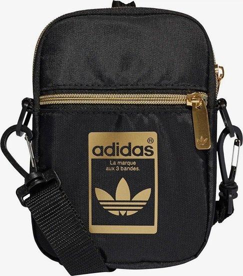 Adidas Originals Umhängetasche 'Mini Bag' in Gold / Schwarz für 13,52€