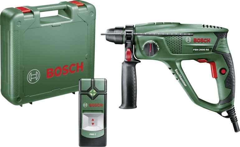 Bosch Bohrhammer PBH 2600 RE inkl. Ortungsgerät PMD 7 für 85€