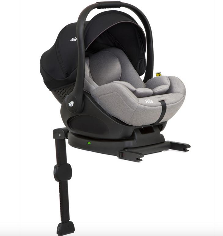 Joie – Babyschale i-Level in grau mit Isofix Base LX für 130€ inkl. Versand (statt 195€)