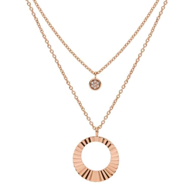 Fossil mehrreihige Halskette (JF03546791) für 41,30€ inkl. Versand (statt 53€)
