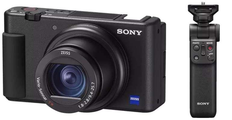 Sony ZV-1 Vlog-Kamera + Sony GP-VPT2BT Wireless Grip für 705,47 € (statt 846€)