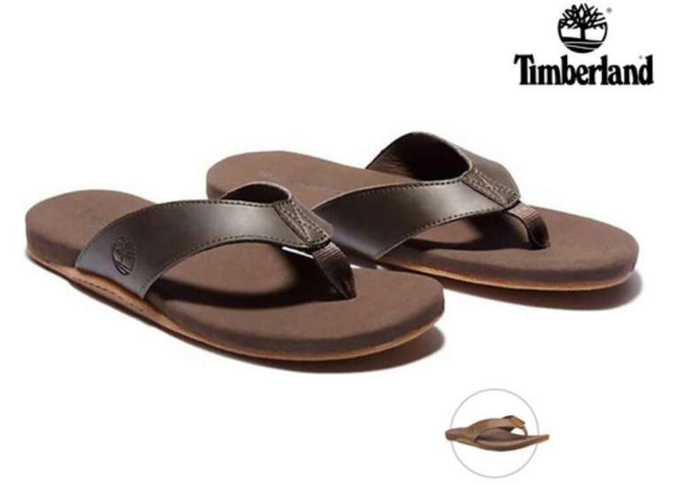 """Timberland Zehentrenner """"Seaton Bay"""" (Hochwertiges Leder, Memory-Schaum-Fußbett) für 30,90€ (statt 48€)"""