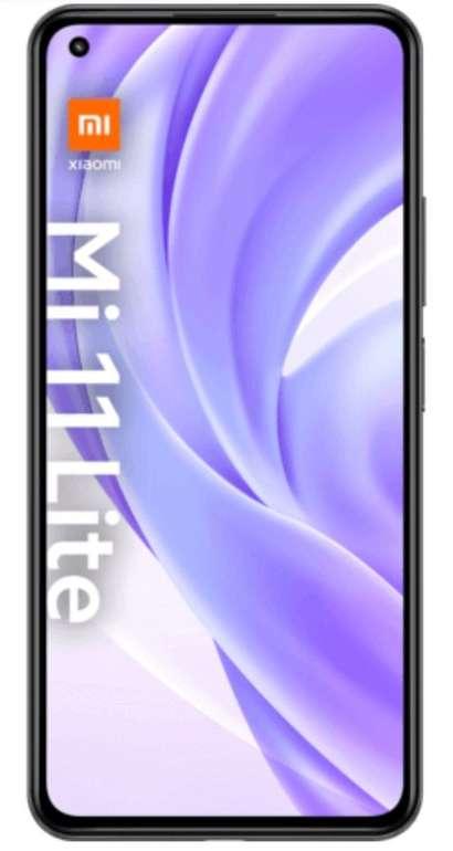 Xiaomi Mi 11 Lite mit 128GB Speicher (4,95€) + o2 Super Select M (8GB LTE, Allnet- & SMS-Flat) für 12,99€ mtl.
