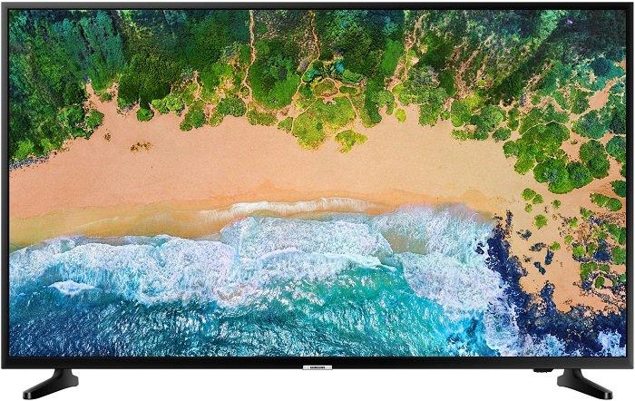 Samsung LED TV UE50NU7099 (50″, 4K, Smart TV) für 357,11€ inkl. Versand