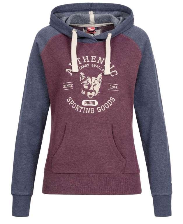 Puma Fun Athletic Damen Fleece Hoodie für 21,94€ (statt 35€)