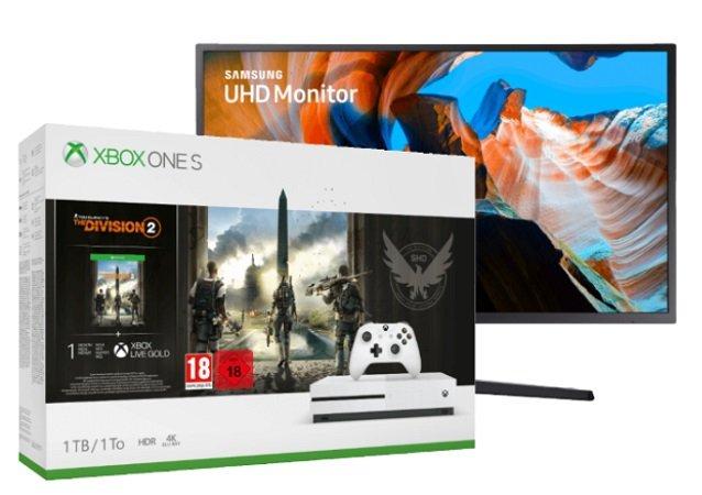 Saturn Entertainment Weekend Deals, z.B. Xbox One S 1TB Bundle + Monitor 449€
