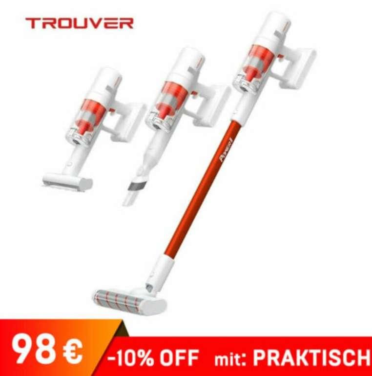Trouver Power 11 Akku Handstaubsauger (LED Screen, 20KPa, 100.000 rpm) für 98€ inkl. Versand (statt 131€)