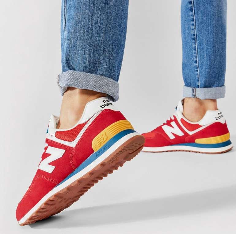 New Balance ML574HA2 Herren Sneaker in Rot für 52€ inkl. Versand (statt 86€)