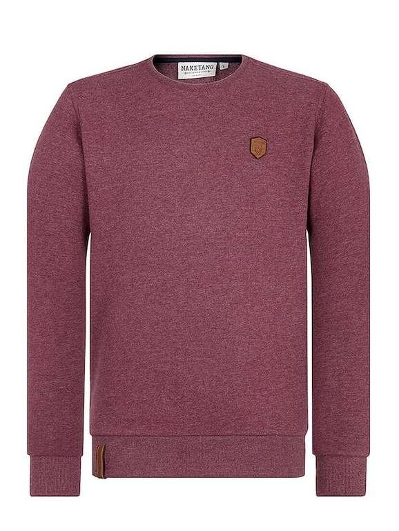 Naketano Sweatshirt 'Sheriff Von Huckingen' in 4 Farben für 33,92€ (statt 39€)
