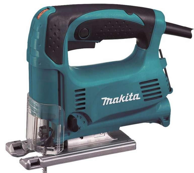 Makita 4329KX1 Stichsäge Elektronik-Pendelhub-Stichsäge mit Koffer für 59,95€ inkl. Versand (statt 79€)