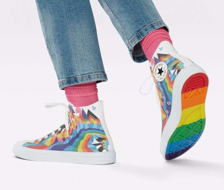 Converse Pride Chuck Taylor All Star High Top Sneaker für 63,75€ (statt 75€)