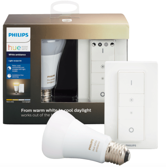 Philips Hue R37 Light Recipe Kit (HomeKit, Qivicon, ZigBee, Alexa komp.) ab ~20€