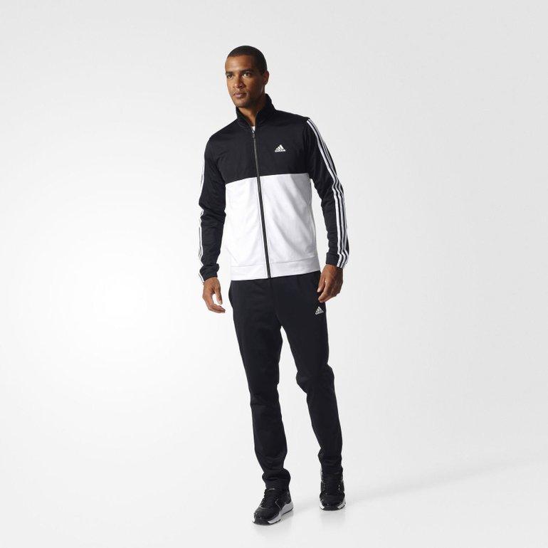 "Adidas Back 2 Basics ""3 Streifen"" Trainingsanzug für 32,48€ inkl. Versand"