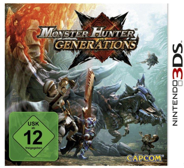 Monster Hunter Generations für 15€ inkl. Versand (statt 22€)