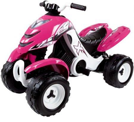 Smoby elektronisches Racing Quad X Power Girl für 99,99€ inkl. Versand