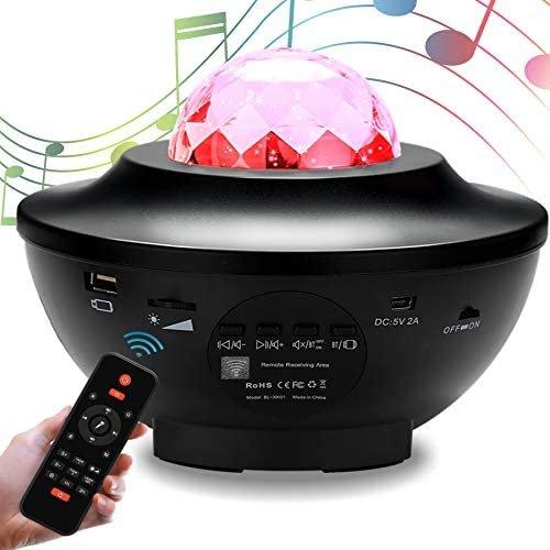 Vingo LED Sternenhimmel Projektor mit Bluetooth Lautsprecher für 22,50€ inkl. Versand (statt 25€)